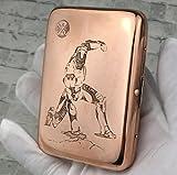 XIAOXIA Étui De Cigarette Portable Boîtier Cigarette Cigarette Case Cigarette Case Coiffe De Fer De Cigarette Métal Coiffe De Cigarette en Acier Inoxydable Étui De Cigarette