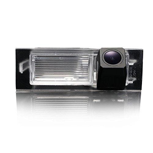 Kalakass Caméra de Recul Voiture en Couleur Kit Caméra vue arrière de voiture Imperméable IP67 avec large Vision Nocturne pour 2015-2016 Renegade