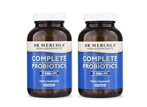 Dr Mercola Completo Probiotici (180 Capsule - 2 x 90 Capsule)