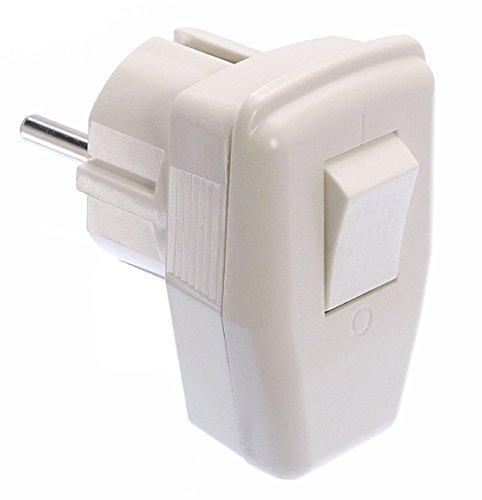 as - Schwabe 45035 Winkelstecker mit Schalter, 230 V
