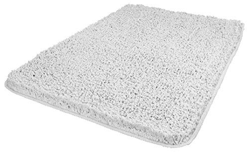 Kleine Wolke 4035158657, Tappetino da Bagno Trend, 80 x 140 cm, Bianco