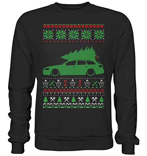 glstkrrn A6 S6 RS6 4F Avant Ugly Christmas Sweater