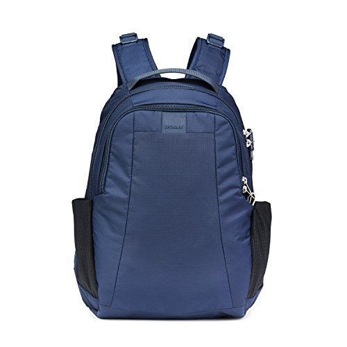 PacSafe Metrosafe LS350 anti-theft 15L backpack Zaino Casual, 42 cm, 15 liters, Blu (Deep Navy 638)