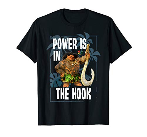 Disney Moana Maui Power Is In The Hook Portrait T-Shirt