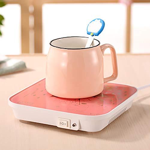 KFHWQ Beker warmhouder voor thee, bekerwarmer, intelligent constante temperatuur van 55 graden handcup, verwarming, kantoor verwarming, koffie kop, isolatie veiligheid, energiebesparend