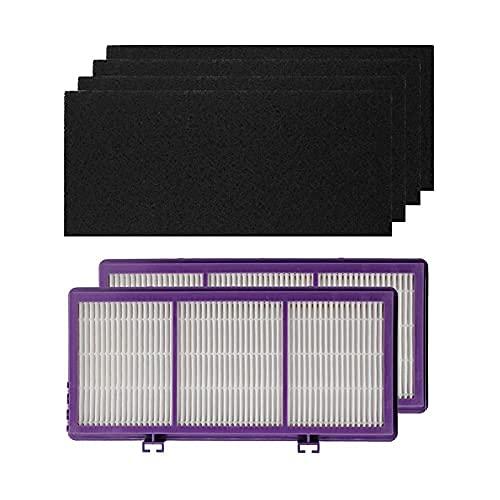 V-MAXZONE Repuestos para aspiradoras Accesorios Filtro purificador de Aire + Esponja HAPF300AP-U4 Bionaire BAP260, BAP815, BAP825, BAP9200, BAP9700, BAP520 Holmes AER1 ✅