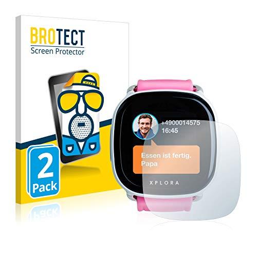 BROTECT 2X Entspiegelungs-Schutzfolie kompatibel mit Xplora Kids Bildschirmschutz-Folie Matt, Anti-Reflex, Anti-Fingerprint