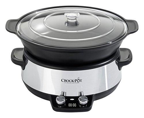Crock-Pot–CSC011X Digital Sauté de olla de cocción lenta