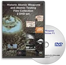 Historic Atomic Weapons and Nuclear Testing Film Collection 2 DVD Set - Vintage Hydrogren Bomb Explosions, Hiroshima and Nagasaki, and the Effects of the Nuclear Arsenal
