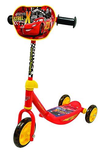 Smoby 750107 - Cars Design Roller mit 3 Rädern