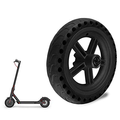 Kesbin Electric Scooter Wheel, 8.5 Inches Front/Rear Tire Replacement Explosion-Proof Anti-Skidding Solid Tire for Xiaomi M365 Electric Scooter Skateboard Xiaomi M365 Accessories