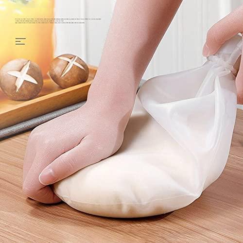 AVEE Silikon Teig kneten Tasche Mehl Mixer-Tasche Vielseitige Teigknetmaschine für Brot Gebäck Pizza Kitchen Tools