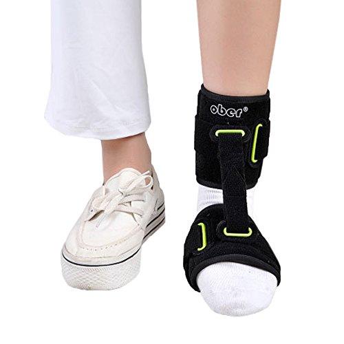 OBER Einstellbar Knöchelbandage Unterstützung Fuß Drop-Unterstützung Fersensporn Fuß Cramps Prävention