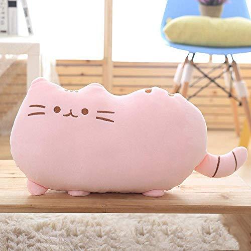 Mini Office Depot Kawaii Peluche en forme de chat, grand coussin, jouet pour enfant et bébé,...