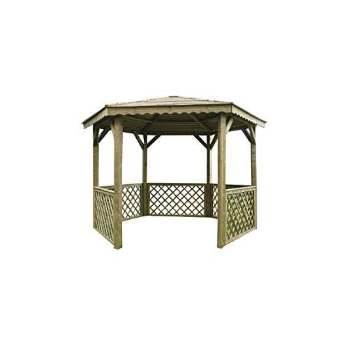 SOLID SUPERIA Pavilion Kiosque, Bois, 351x305x256 cm