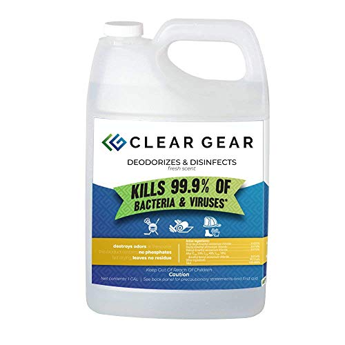 Clear Gear Disinfecting Spray 1 Gallon Bottle - (Model: 403)