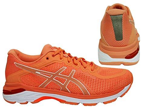 Asics T859N-0601_37,5, Zapatos para Correr para Mujer, Rosa, 37.5 EU