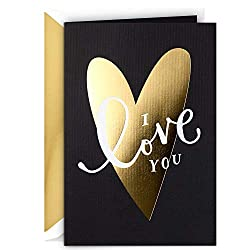 Hallmark Signature Anniversary Card, Love Card for Significant Other (Today, Tomorrow, Always)