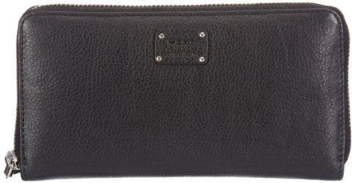 Mexx Herren 13haw204 Golden Foil Leather Wallet Geldbörsen, Schwarz (Black), 19x10x2 cm