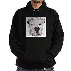 CafePress American Bulldog Sweatshirt Pullover Hoodie, Classic & Comfortable Hooded Sweatshirt Black