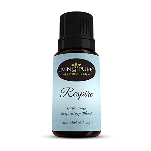 #1 Respiratory Essential Oil & Sinus Relief Blend - Supports Allergy Relief, Breathing, Congestion Relief, Respiratory Function - 100% Organic Therapeutic & Aromatherapy Grade - 15ml