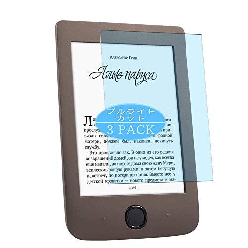 Vaxson 3 Stück Anti Blaulicht Schutzfolie, kompatibel mit PocketBook 615 Plus,...