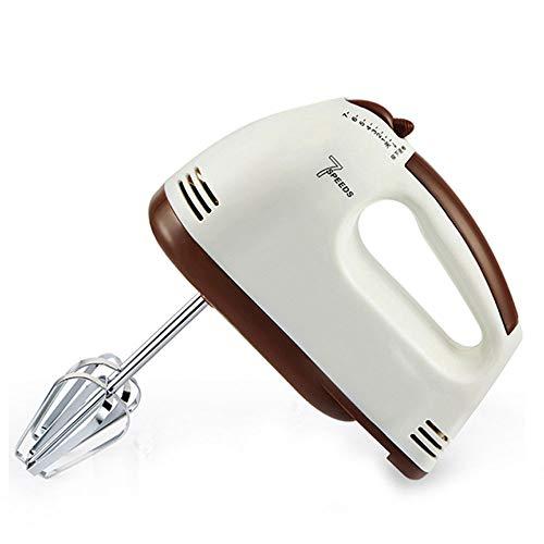 7 Geschwindigkeit Rührbesen Hand Blender Mixer Electric Hand Whisk Handmischer Mit Turbo-Funktion Spülmaschinenfest Zubehör Für Mischen, Homogenisieren, Auspeitschen Und Schlagen, 100W