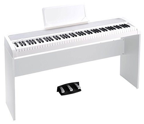 Korg b1spwh Concert de Piano 'Slim Line 8 sons, speaker System avec Technologie motional Feedback