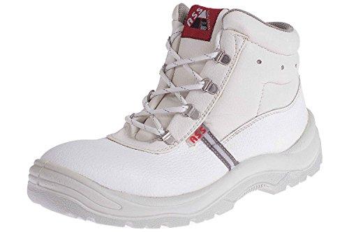 ASS® Herren Sicherheitsschuhe S3 SRC - Echt Leder - Stahlkappe Größe: 45