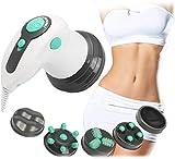 SuRose Terapia Facial, masajeador de raspado eléctrico para compresa Caliente Gua Sha Masaje de Ondas magnéticas Drenaje linfático Máquina de succión con ventosas Calefacción microeléctrica Nfrared