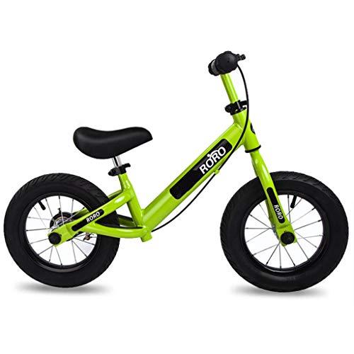 Bicicleta sin pedales Bici Bicicleta de Equilibrio con Freno de Mano -...