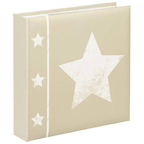 Hama Skies Beige álbum de Foto y Protector - Álbum de fotografía (220 mm, 225 mm, Beige, 100 Hojas, 10 x 15, 200 Hojas)