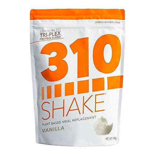 Plant Protein Powder and Meal Replacement Shake | 310 Shakes are Gluten and Dairy Free, Soy Protein and 0g of Sugar | Keto and Paleo Friendly | Includes Recipe eBook | (Vanilla, 28 Servings)