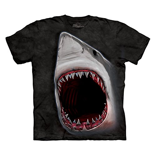 Mens Shark Bite Short Sleeve Tee