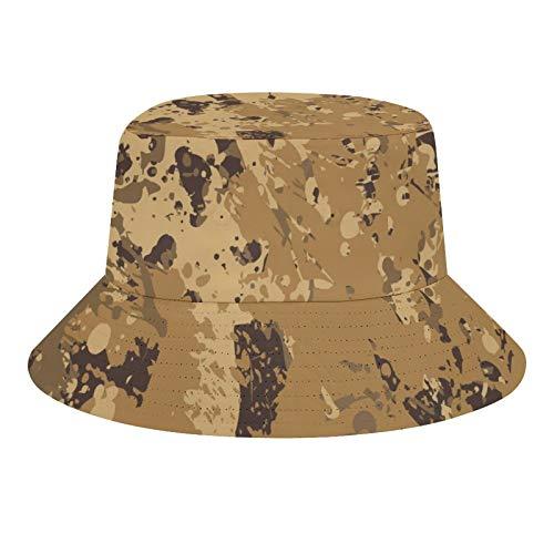 Brand Free Sombrero unisex de pescador, estampado de frutas coloridas, plegable, informal, para viajes, playa, para hombres y mujeres