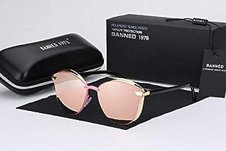Women's Sunglasses - 1976 Luxury Women Sunglasses Fashion Round Ladies Vintage Retro Brand Designer Oversized Female Sun G...