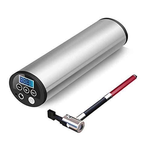 CQB Elektrischer KFZ Kompressor Tragbarer Luftverdichter-Luftpumpe Auto Electric Minipumpe Elektro Wiederaufladbare mit LED-Licht und LCD-Schirm 150PSI 12V / DC GRS-6.28