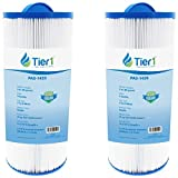 Tier1 Pool & Spa Filter Replacement for Marquis Spas PPM35SC, Filbur FC-0195, Unicel 5CH-352 - Pleated Water Filter to Reduce Water Contaminants - 2 Pack