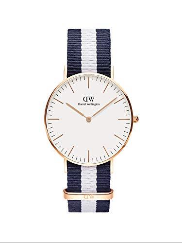 Daniel Wellington Damen-Armbanduhr Classic Glasgow Quarz Rosegold DW00100031