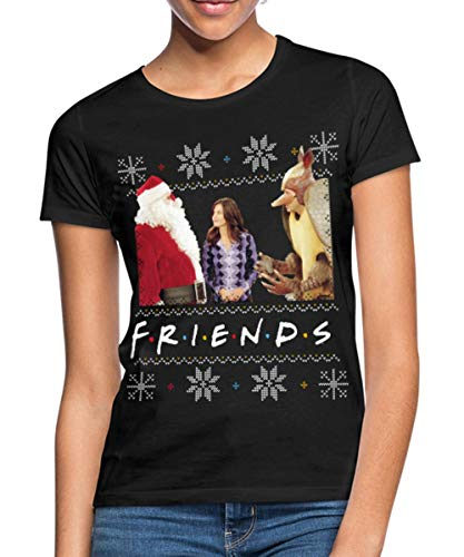 Spreadshirt Friends Ugly Christmas Sweater Vrouwen T-shirt