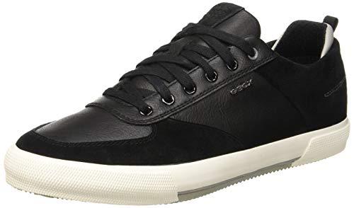 Geox Herren U KAVEN A Sneaker, Schwarz (Black C9999), 46 EU