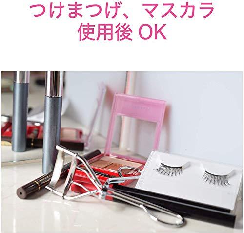 コイズミアイラッシュカーラー2WAYコームカーブヘッドタイプUSB充電式ピンクKLC-0980/P