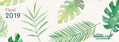 GreenLine Floral 2019: Tischkalender GreenLine