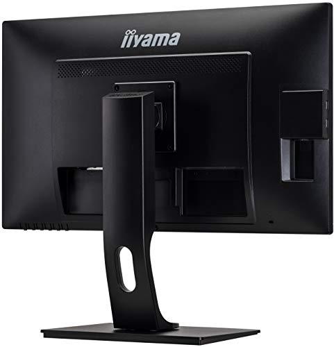 iiyama ProLite XB2783HSU-B3 68,6cm (27″) AMVA+ LED-Monitor Full-HD (VGA, HDMI, DisplayPort, USB2.0) Höhenverstellung, Pivot, schwarz - 8