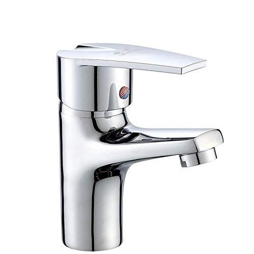 Grifos para lavabo lavabo de baño con ranura lavabo grifos para lavabo en frío grifos para lavabo fregadero de latón grifos para lavabo lavabo lavabo de latón lavabo lavabo monoorificio grifo agua caliente y fría lavabo del armario baño grifo válvula