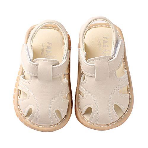 Miyanuby Sandalias Bebe Niño Verano Suela Suave Antideslizante Primeros Zapatos para Niños 0-30 Meses