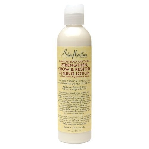 SheaMoisture Strengthen, Grow & Restore Styling Lotion, Jamaican Black Castor Oil? fl oz by Shea Moisture