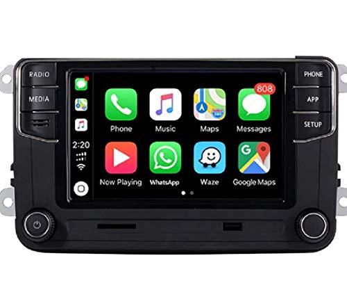 6,5' Autoradio GPS RCD 330 Carplay Bluetooth pour VW Golf Caddy Touran Passat Tiguan Polo Golf 6 Golf 5