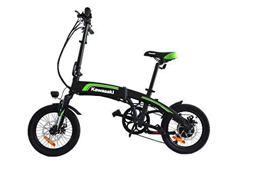 Amercook Bicicleta Eléctrica Plegable Kawasaki 16