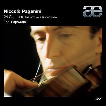 Paganini: 24 Caprices (Live in Tokyo & Studio Version)